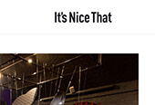 IT'S NICE THAT – OCTOBER 2010