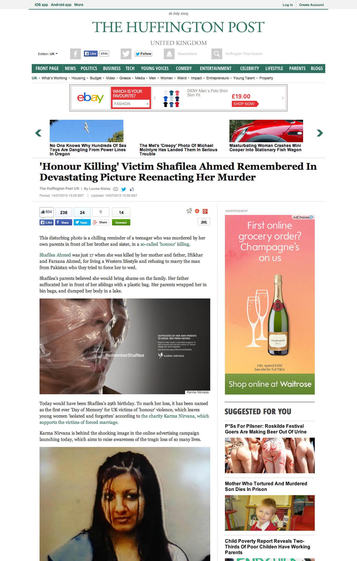 Huffington Post Remeber Shafilea 1192px